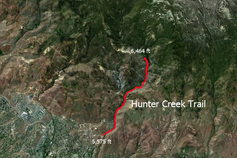 hunter creek elevation